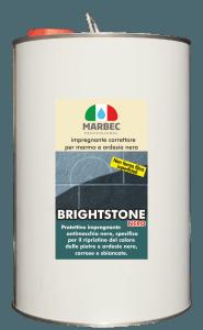 MARBEC | BRIGHTSTONE NERO 5LT Impregnante correttore per marmo e ardesia nera