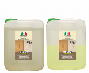 MARBEC | DECO2 5lt + 2,5lt Soluzione decolorante per legno