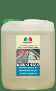 Marbec - DELUXE TEAK 5LT | Smacchiatore nautico specifico per ponti barca e superfici in teak