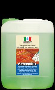MARBEC | DETERBRILL 5lt Detergente concentrato brillantante per pavimenti cerati