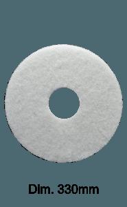 Disco bianco per monospazzola Marbec | Nessuna Aggressività