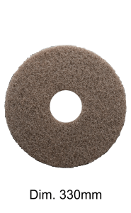 Disco marrone per monospazzola Marbec | Alta Aggressività