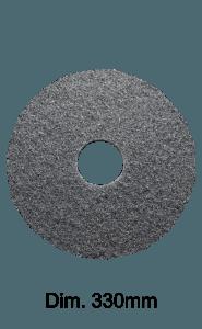 Disco nero per monospazzola 330MM Marbec | Extra Aggressività