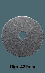 Disco nero per monospazzola 432MM Marbec | Extra Aggressività