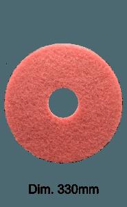DISCO ROSSO 330mm per monospazzola Marbec | Leggera Aggressività