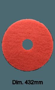 DISCO ROSSO 432mm per monospazzola Marbec | Leggera Aggressività