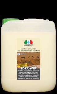 MARBEC | IDROWIP 5lt Protettivo anti-umidità per materiali lapidei assorbenti