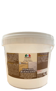 Marbec - FONDO BIANCO 40 5KG | Fondo bianco per legno interno