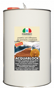 MARBEC | ACQUABLOCK 1lt Anti-infiltration protection for floors and coatings