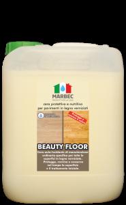 Marbec - BEAUTY FLOOR |  cera protettiva e nutritiva per pavimenti in legno verniciati
