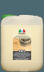 Marbec KW-L 5LT | Cristallizzante liquido per pietre e materiali calcarei lucidi