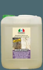 Marbec MICRONET 5lt | Detergente intensivo per materiali lapidei microporosi