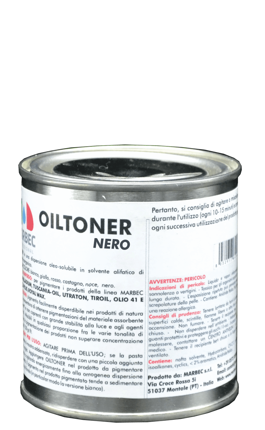 Marbec OILTONER NERO | Pigmento in dispersione oleo-solubile