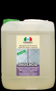 MARBEC | DELICACID 1LT Detergente disincrostante  acido per pietre e ceramica