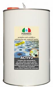 Marbec | ACTIV3 Protettivo anti-umidità e antimacchia per materiali lapidei