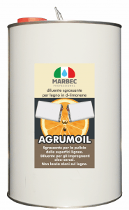Marbec | AGRUMOIL 5LT Diluente sgrassante per legno in d-limonene