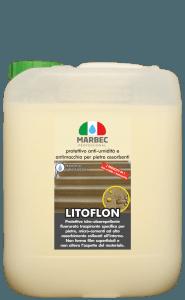 MARBEC | LITOFLON 5lt Protettivo anti-umidità e antimacchia per pietre assorbenti