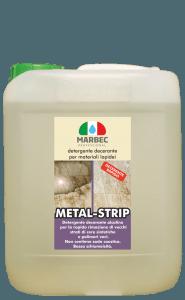 MARBEC | METAL-STRIP 5lt detergente decerante per materiali lapidei