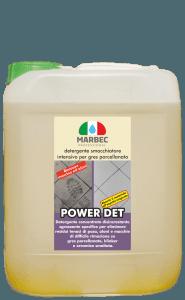 MARBEC | POWER DET 5lt Detergente smacchiatore intensivo per gres porcellanato