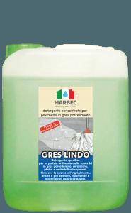 MARBEC | GRES LINDO 5LT Detergente concentrato per pavimenti in gres porcellanato
