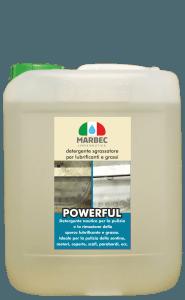 MARBEC | POWERFUL 5LT Detergente sgrassatore per oli lubrificanti e grassi