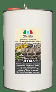 MARBEC - SILOX 6 5LT | protettivo universale anti-umidità per materiali lapidei