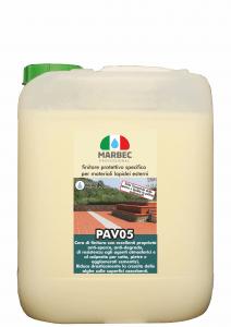MARBEC | PAV05 5lt Finitore protettivo specifico per materiali lapidei esterni