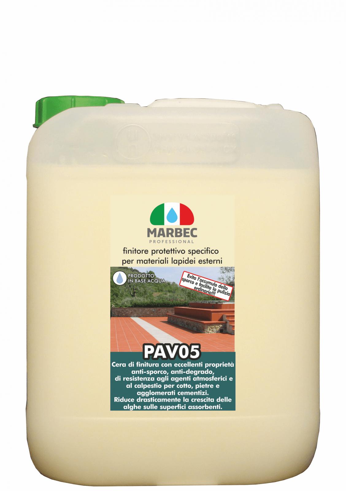Detergente Per Cotto Esterno pav05