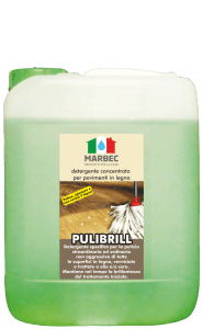 MARBEC | PULIBRILL 5lt Detergente concentrato per pavimenti in legno