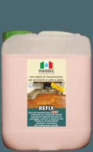 MARBEC - REFIX MATT 5LT | cera opaca di manutenzione per pavimenti in cotto e pietra