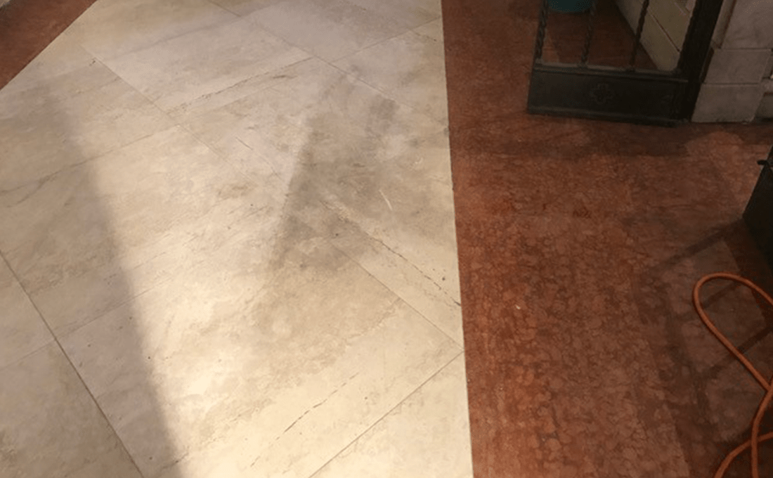 come-pulire-un-pavimento-in-marmo-rovinato how to clean ruined marble floor
