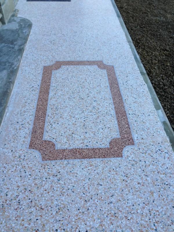graniglia-di-marmo terrazzo de marbre