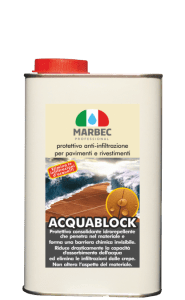 MARBEC   ACQUABLOCK 1lt Anti-infiltration protection for floors and coatings