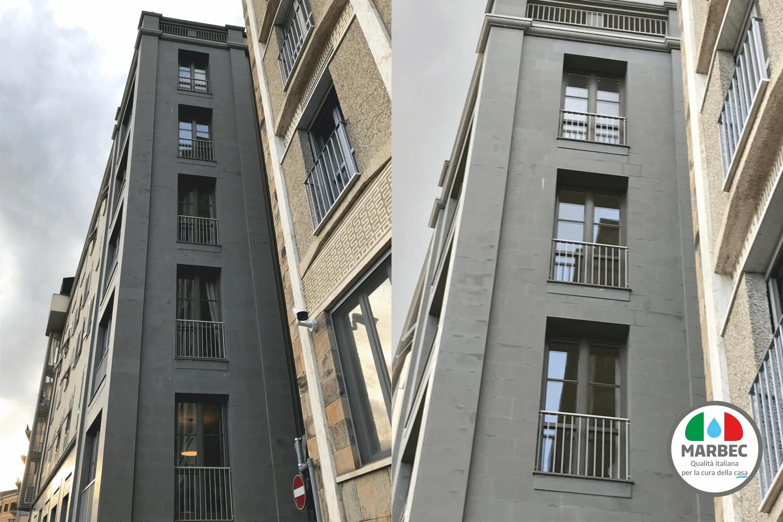 Marbec   come effettuare ripristino facciata esterna