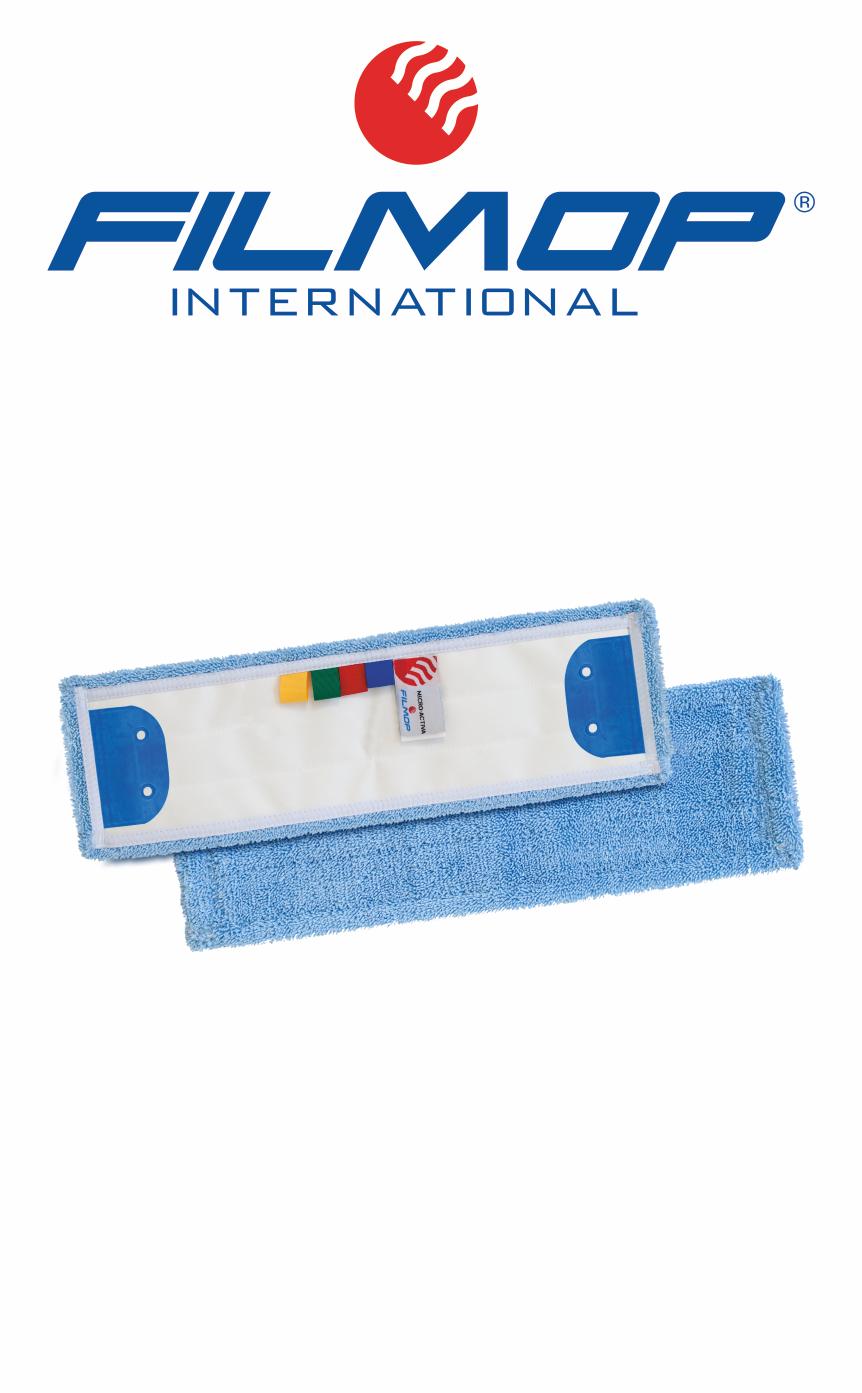 SPEEDY MICRO-ACTIVA Panno in microfibra, supporto in tela poliestere, con alette a 2 fori, con etichetta colour code FILMOP   MARBEC
