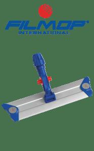 Telaio in alluminio professionale 40cm con profili per sistema a velcro, con bocchettone Lock System FILMOP | MARBEC