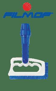 spazzola con bocchettone in PBT blu per pulizia fughe FUGINATOR FILMOP   MARBEC