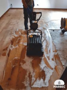 ristrutturare parquet oliato