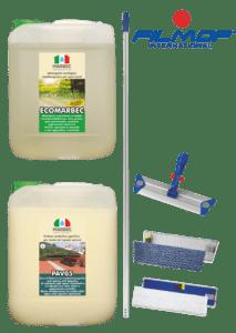 Marbec - KIT COTTO PIETRA ESTERNO | kit pulizia e manutenzione cotto e pietra esterno