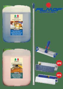 Marbec | KIT COTTO E PIETRA Kit completo per pulizia e manutenzione cotto e pietra assorbente