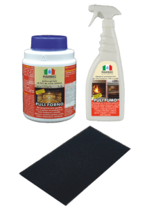 Marbec - KIT FORNO E BARBECUE | Kit completo per pulizia sgrassante e disincrostante di forni e barbecue